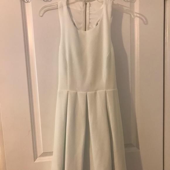 Lulu's Dresses & Skirts - White skater dress